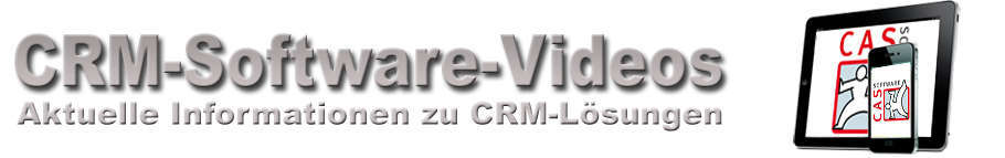 CAS CRM-Software Videos