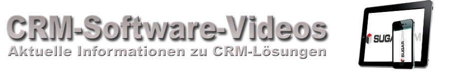 SugarCRM CRM-Software Videos