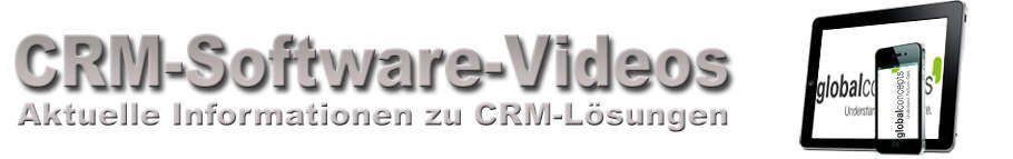 Global Concepts CRM-Software Videos