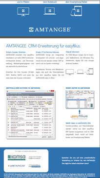 amtangee CRM-Erweiterung für Easyfilius
