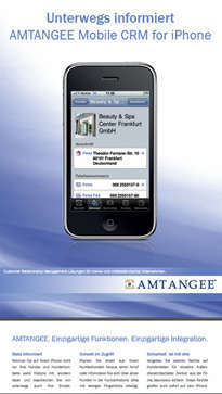 amtangee CRM Mobile iPhone